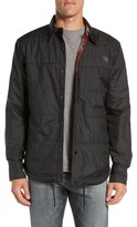 The North Face 'Fort Point Flannel' Water Resistant Reversible Jacket