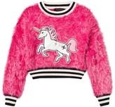 Juicy Couture Hot Pink Fluffy Unicorn Sweatshirt