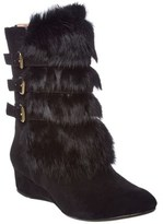 Taryn Rose Fritzy Suede Boot.