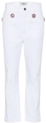 Fendi Exclusive to Mytheresa Embellished jeans