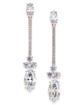Eliot Danori Crystal Linear Drop Earrings, Created for Macy's