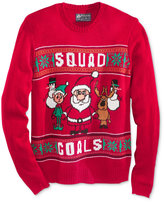 American Rag Men's Christmas Squad Goals Sweater, Only at Macy's
