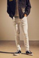 BDG Destructed White Skinny Jean
