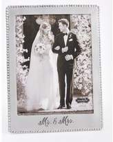 Mud Pie Mr. & Mrs. Microbead Picture Frame