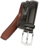 JCPenney Stafford Black Leather Belt-Big & Tall