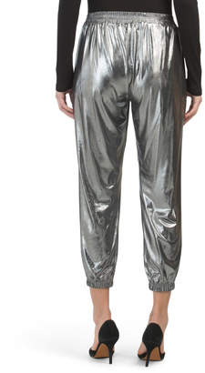Made In Usa Metallic Joggers