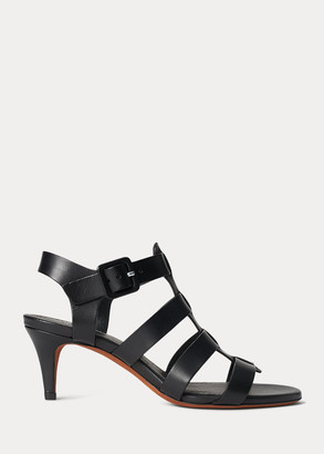 Ralph Lauren Vachetta Leather Sandal
