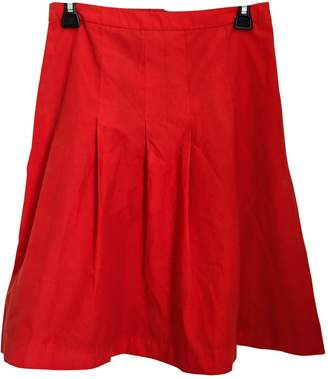 A.P.C. Red Skirt for Women