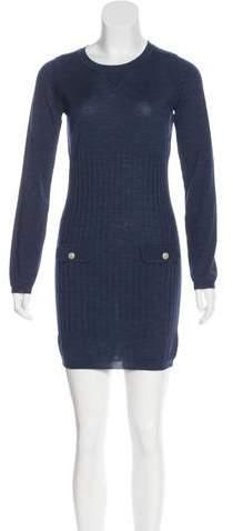 Chanel Rib Knit Dress w/ Tags