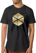 ZSHIWENH Men's Destiny Titan Gold Logo T-shirt