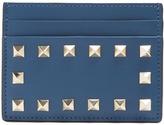 Valentino Rockstud leather cardholder