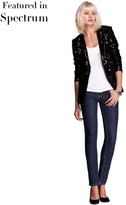 Isabella Oliver Relaxed Sequin Jacket