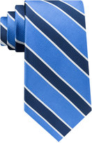 Club Room Men's Collegiate Stripe Silk Tie, Only at Macy's