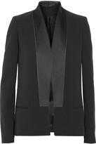 Victoria Beckham Silk and wool-blend tuxedo jacket