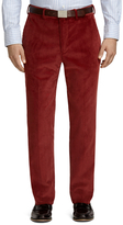 Brooks Brothers Own Make Rust Corduroy Dress Trousers