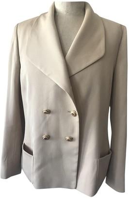 Celine Beige Wool Jackets