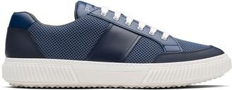 Prada Mesh-Panel Low-Top Sneakers