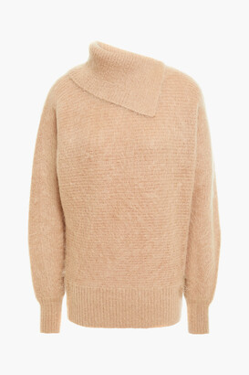 Zimmermann Brushed Ribbed Mohair-blend Sweater