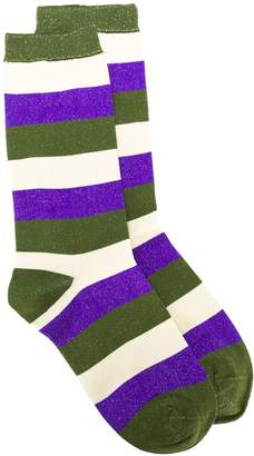Ganni striped socks
