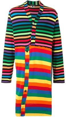 Comme des Garcons Striped Print Cardigan