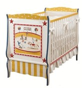 The Well Appointed House Hand Painted Circus Crib