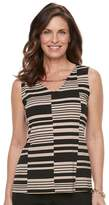 Dana Buchman Women's Metal Accent Tank