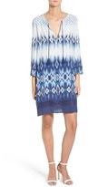 Cupcakes And Cashmere Women's 'Quest' Ikat Print Tunic