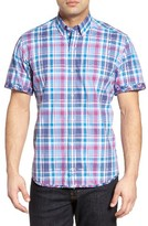 Tailorbyrd Men's Sumac Plaid Sport Shirt