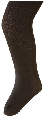 Capezio Ultra Soft Footed Tights (Toddler) (Black) Girl's Casual Pants