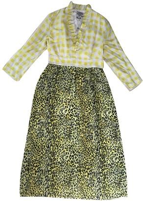 Baum und Pferdgarten Yellow Silk Dresses