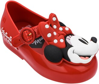Mini Melissa x Disney Minnie Mouse Mary Jane Flat