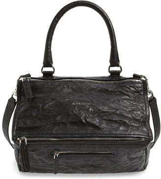 Givenchy Medium Pepe Pandora Leather Satchel
