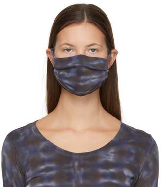Raquel Allegra Purple Jersey Tie-Dye Mask