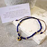 Lapis Eve&Fox Beaded Friendship Bracelet