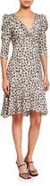 Bailey 44 Olivia 3/4-Sleeve Leopard-Print Dress