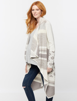 A Pea in the Pod Drape Front Maternity Sweater