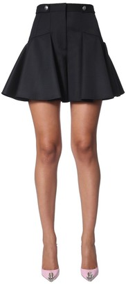 Alexander McQueen Pleated Shorts