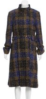 Carolina Herrera Wool-Blend Bouclé Coat