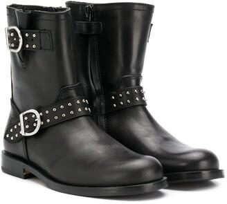 Gallucci Kids buckle strap boots