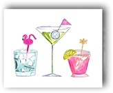 The Well Appointed House Summer Cocktails Colorful Art Print