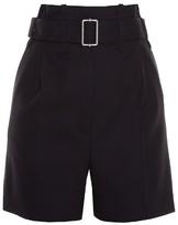 Balenciaga Paperbag-waist shorts