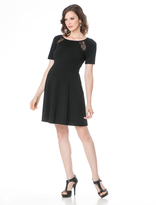A Pea in the Pod Elbow Sleeve Back Interest Maternity Dress