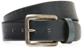 Berge Men's Distressed Leather Belt