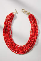 Anthropologie Perrie Layered Bib Necklace