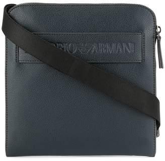 Emporio Armani Logo Strap Messenger Bag