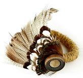 Juliska Feather Napkin Ring