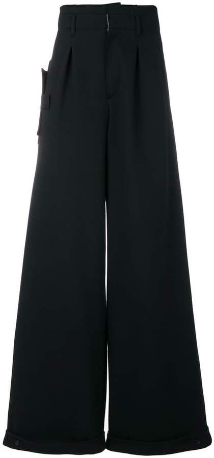 Off-White side fold trousers
