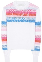 Peter Pilotto Peruvian Knit cotton sweater