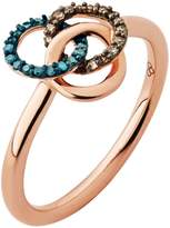 Links of London Treasured Rose Gold & Diamond Ring