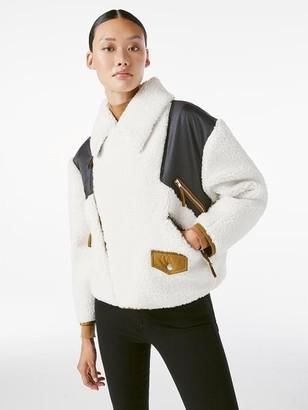 Frame Fleece Mix Jacket